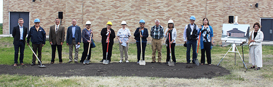 CCCC groundbreaking center for cultural arts